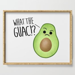 What The Guac - Avocado Serving Tray