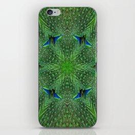 So Many Peacock Eyes iPhone Skin