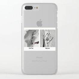 Bitch Tease, Bikini Brat Clear iPhone Case