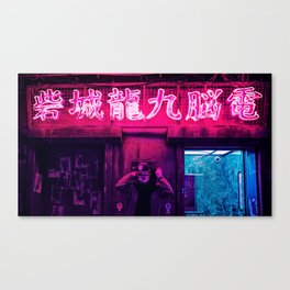 Tokyo Nights / Neon / Liam Wong Canvas Print