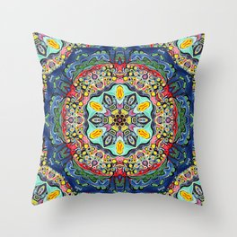 Mandala Primal 23 Throw Pillow
