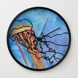 Jellyfish meet Jellyfish Wall Clock