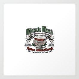 Mutton-Lettuce-and-Tomato Art Print