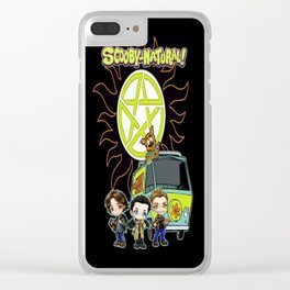 Scoobynatural And The Crew Clear iPhone Case