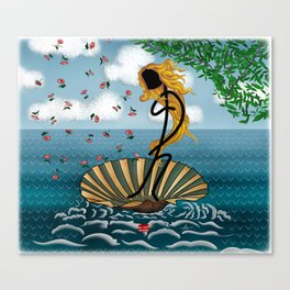 Pop my Venus Canvas Print