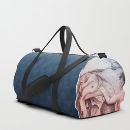 Trapped In This Idea - Navy Duffle Bag