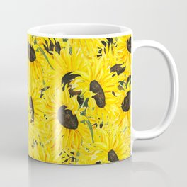 sunflower pattern 2018 1 Coffee Mug