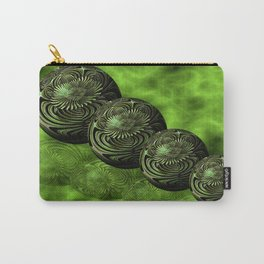 Steel Flora Reflections Carry-All Pouch
