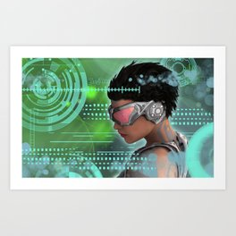 One Future Art Print