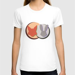 Nick and Judy Logo Design  T-shirt