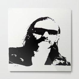 Lemmy Kilmister  Metal Print