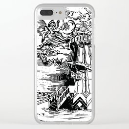 Helter Skelter on a moody afternoon Clear iPhone Case