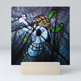 Pirates Flag with Dark Forest 7 Mini Art Print