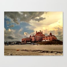 Dramatic Hotel Canvas Print