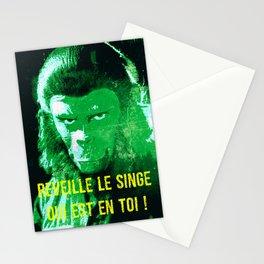 Wake up your monkey Stationery Cards