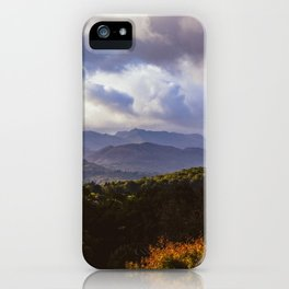 Windermere Hills - Landscape Photography iPhone Case