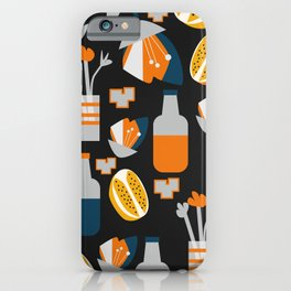 Orange juice iPhone Case