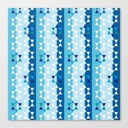 Hanukkah star of david Canvas Print