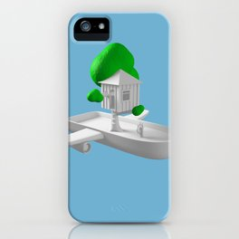 Tree House Boat iPhone Case