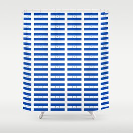 Flag of Honduras 2 -honduran,catracho,tegucigalpa,punta. Shower Curtain
