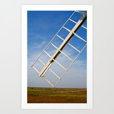 Cley Windmill, UK Art Print