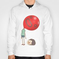 balloon Hoodies featuring balloon by cedricel