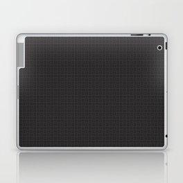 Black Pattern Laptop & iPad Skin