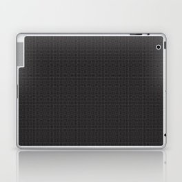 Black Pattern Laptop & iPad Skin