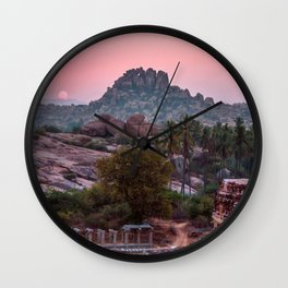Jungle book: sunrise Wall Clock
