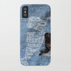 whale and spirit iPhone X Slim Case