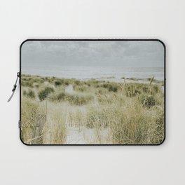Dunes of The Netherlands Art Print | Dutch Landscape Photography | Dunes And Sand, Beach Grass Laptop Sleeve