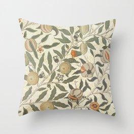 William Morris Fruit Pattern Throw Pillow