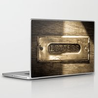 letters Laptop & iPad Skins featuring Letters by BD Photo