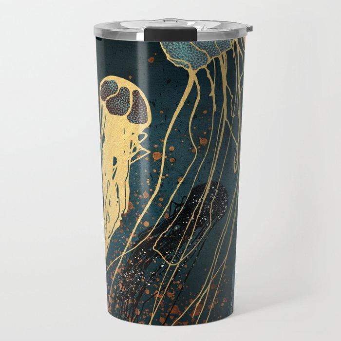 Metallic Jellyfish Travel Mug