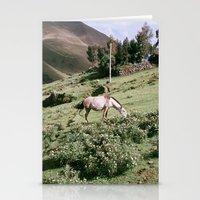 peru Stationery Cards featuring Patacancha, Peru by Wiara