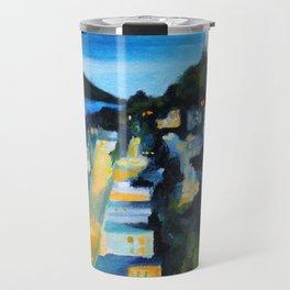 Coit Tower San Francisco at Night Travel Mug