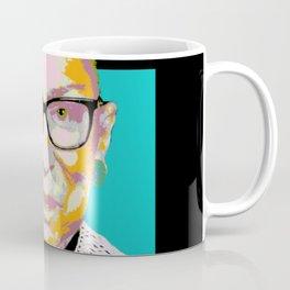 Blue Ruth Bader Ginsburg Coffee Mug