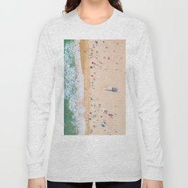 Beach Aerial Long Sleeve T-shirt