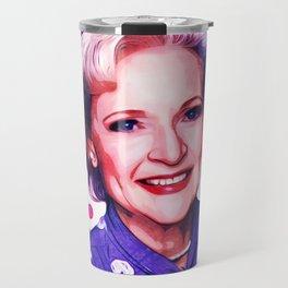 Betty White - Pop Art Travel Mug