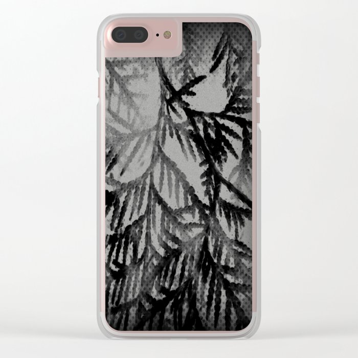 Tree | Trees | Beyond The Trees | Cedar Branches Clear iPhone Case