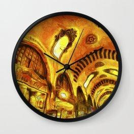 Spice Bazaar Van gogh Wall Clock