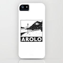 Arolo, Lago Maggiore, Italy iPhone Case