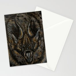 Luster in the Dark -Bat Stationery Cards