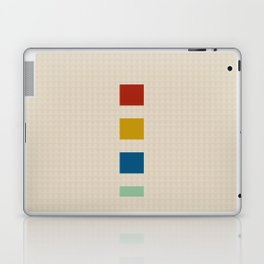 four elements || tweed & primary colors Laptop & iPad Skin