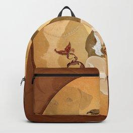 Wonderful pitbull Backpack