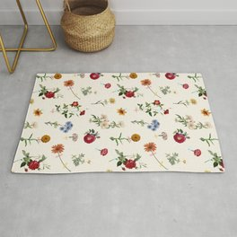 Vertical Garden (White) Rug