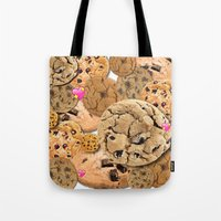 cookies Tote Bags featuring Cookies by jajoão
