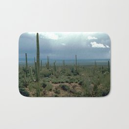 Arizona Desert and Cactuses Bath Mat