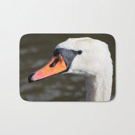 Mute swan landscape Bath Mat