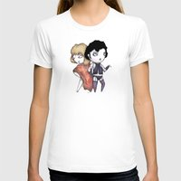 bill T-shirts featuring Bill & Frank by Ludwig Van Bacon